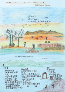 Poem and artwork by Dr. Esther M.K. Cheung